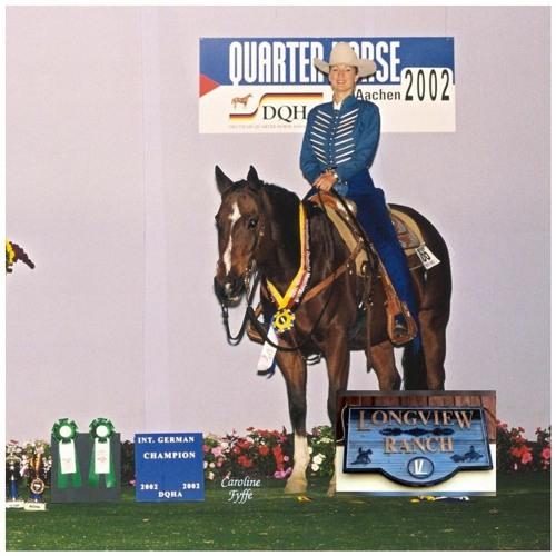 #94 GABRIELE DAUTZENBERG 15-fache Europameisterin, LONG VIEW RANCH o7/21