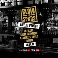 Crude Intentions   Blow The Speakers Livestream 17-04-21   Proost Vlaardingen