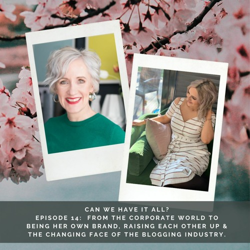 #24 A chat with Jen Stanbrook on supporting women, Pinterest & the changing world of blogging