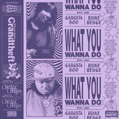 Grandtheft, Gansta Boo & Duke Duece - What You Wanna Do
