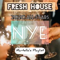 🎉 2020 🎉  ✨ NYE ✨  💯 Fresh House 💯  All-Stars of 2020 Latest Dance & Edm 2020 Playlist 🎶 Dj Martello