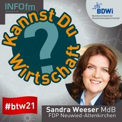 Kannst Du Wirtschaft Sandra Weeser?