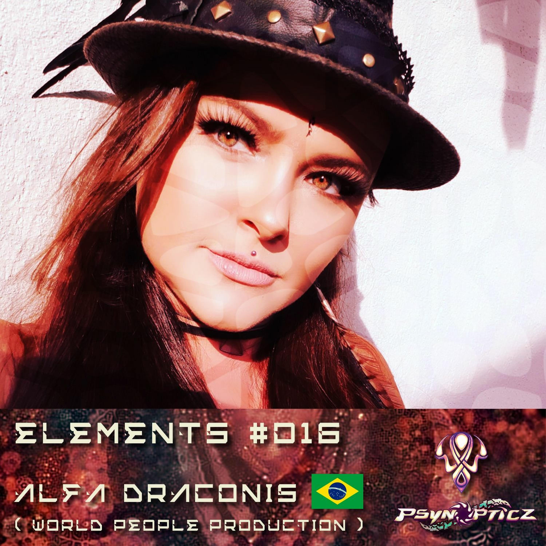 "ALFA DRACONIS | BR (World People Prod) :: PsynOpticz ""ELEMENTS"" Series #016"