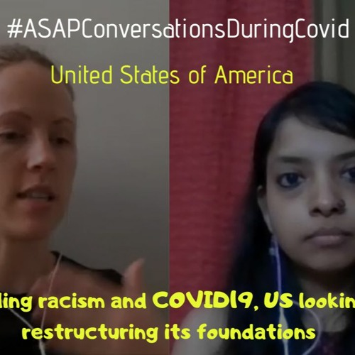 'Battling Racism And COVID19, US Looking At Restructuring Its Foundations' With Alison Hoover