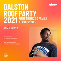 Dalston Roof Party: Jamo Beatz - 19 August 2021