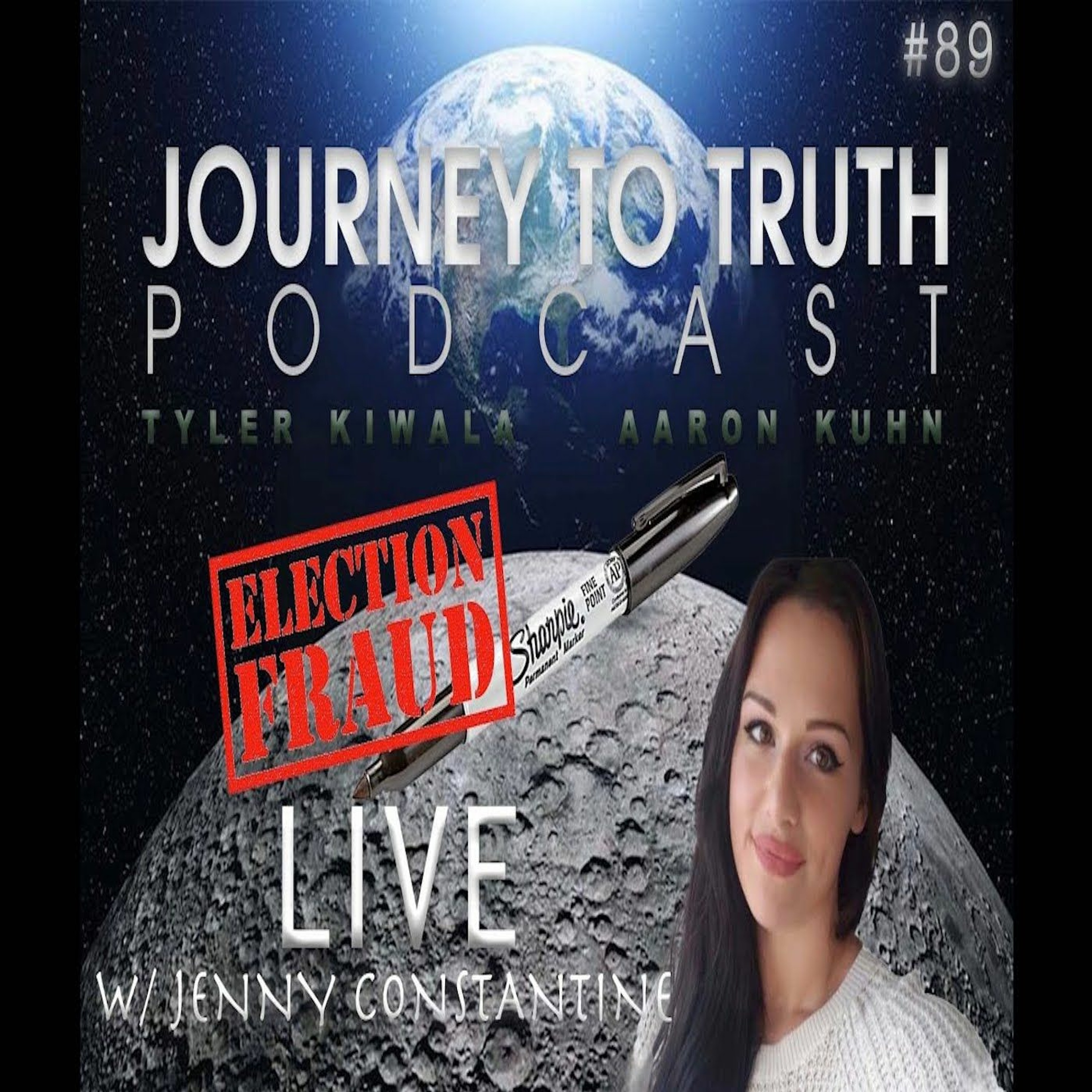 EP 89 - Live w/ Jenny Constantine - Sharpie-Gate - The People Have To Be Shown - Black Magic