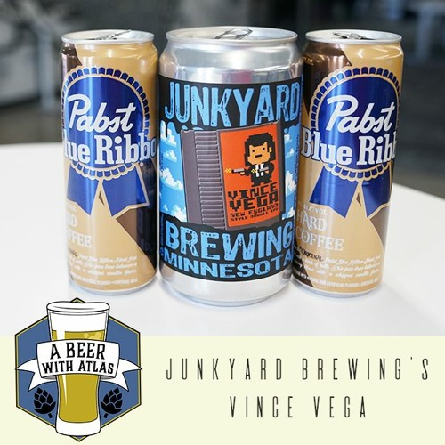 Vince Vega from Junkyard Brewing - A Beer With Atlas 84