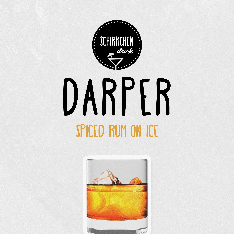 Spiced Rum On Ice | Darper