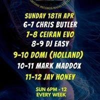 Ceiran Evo In For DJ EASY On Toxic Dance Radio Sunday 18 - 04 - 21