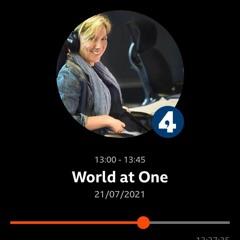 Liverpool World Heritage Status: BBC Radio 4  - World at One