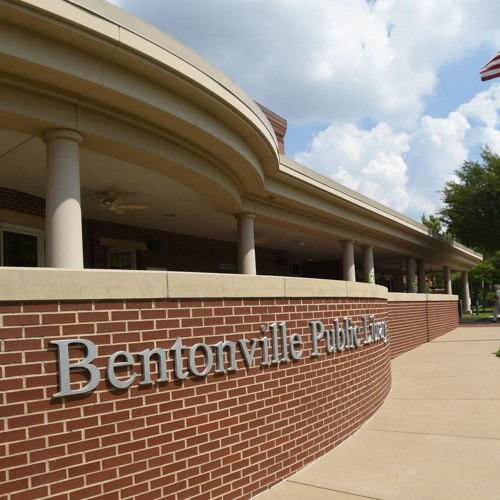 Interview with Bentonville Library Director Hadi Dudley about the proposed library expansion