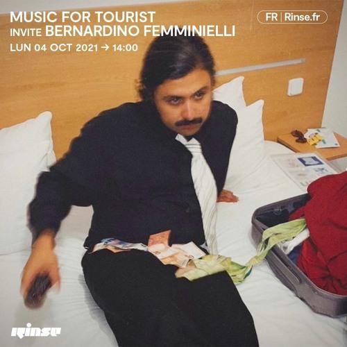 Music For Tourist invite Bernardino Femminielli - 04 octobre 2021