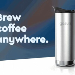 GoSun tackles that perfect cup of coffee anywere: GoSun Brew.