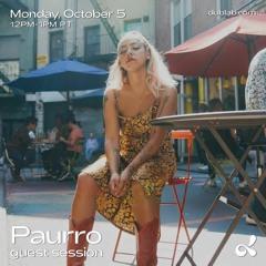 Dublab Guest Session w/Paurro