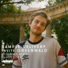Sample Delivery Invite Greenwald on Rinse France