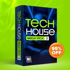95% OFF - Tech House Mega Pack 3 (1000+ Drums, Kits, Presets & More)