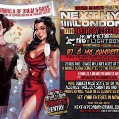 NEXT HYPE 7TH BIRTHDAY DJ ENTRY