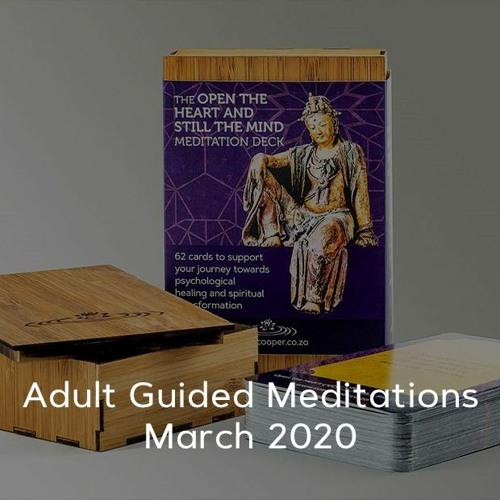 Adult Meditations - March 2020