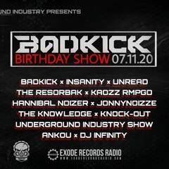 BadkicK - Badkick birthday show 07.11.20