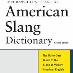 PDF Free McGraw-Hill's Essential American Slang (Essential (McGraw-Hill))
