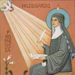 """""""Die Liebe"""" von Hildegard Von Bingen 1098-1179"""