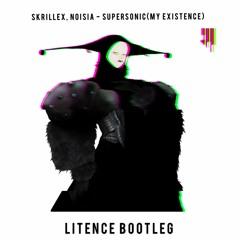Skrillex, Noisia - Supersonic (LITENCE BOOTLEG) [FREE DOWNLOAD]