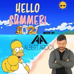 ALBERT AROCA presenta HELLO Summer Hits 2021 - Edición Simpsons