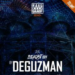 BOCKCAST #024 - DeGuzman [Techno]