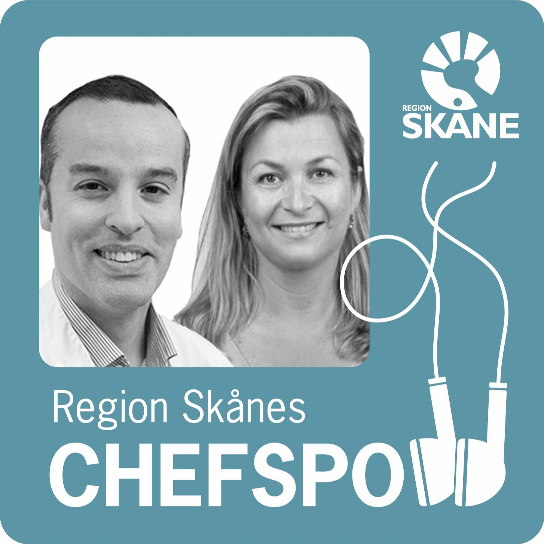 Region Skånes chefspodd - om upplevelse med David Sparv och Anna Herslow Lind