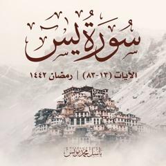 واضرب لهم مثلًا أصحاب القرية   سورة يس   الآيات 13-83   باسل محمد مؤنس   رمضان 1442