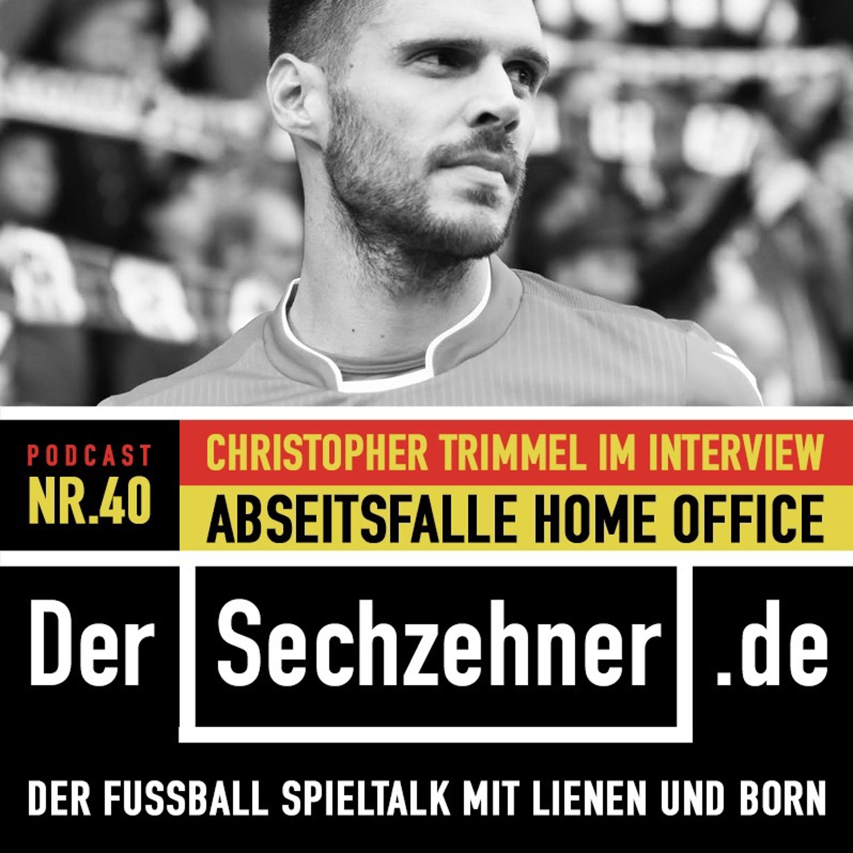 Union-Kapitän Christopher Trimmel: So läuft das im Home Office Der Sechzehner No.40