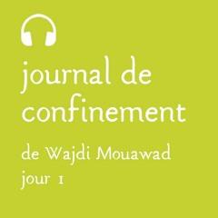 Lundi 16 mars - Journal de confinement - Jour 1