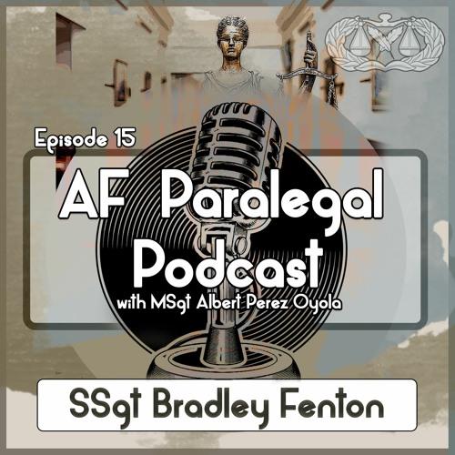 15. SSgt Fenton: Paralegal Retraining and E-FLEP