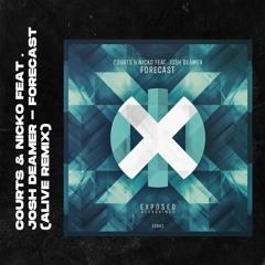 Courts & Nicko Feat. Josh Deamer - Forecast (Alive Remix)