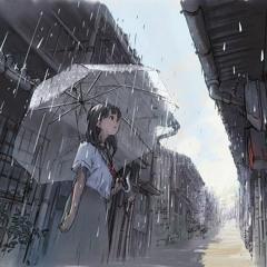 watch rainfall with my imagine girlfriend