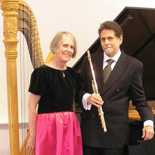 """Play of Light - The Duo """"2"""" (Peter H. Bloom, multiple flutes; Mary Jane Rupert, harp)"""
