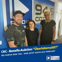 """Interview Club Kommission Cottbus Benefiz - Auktion """"ÜberlebensArt"""""""