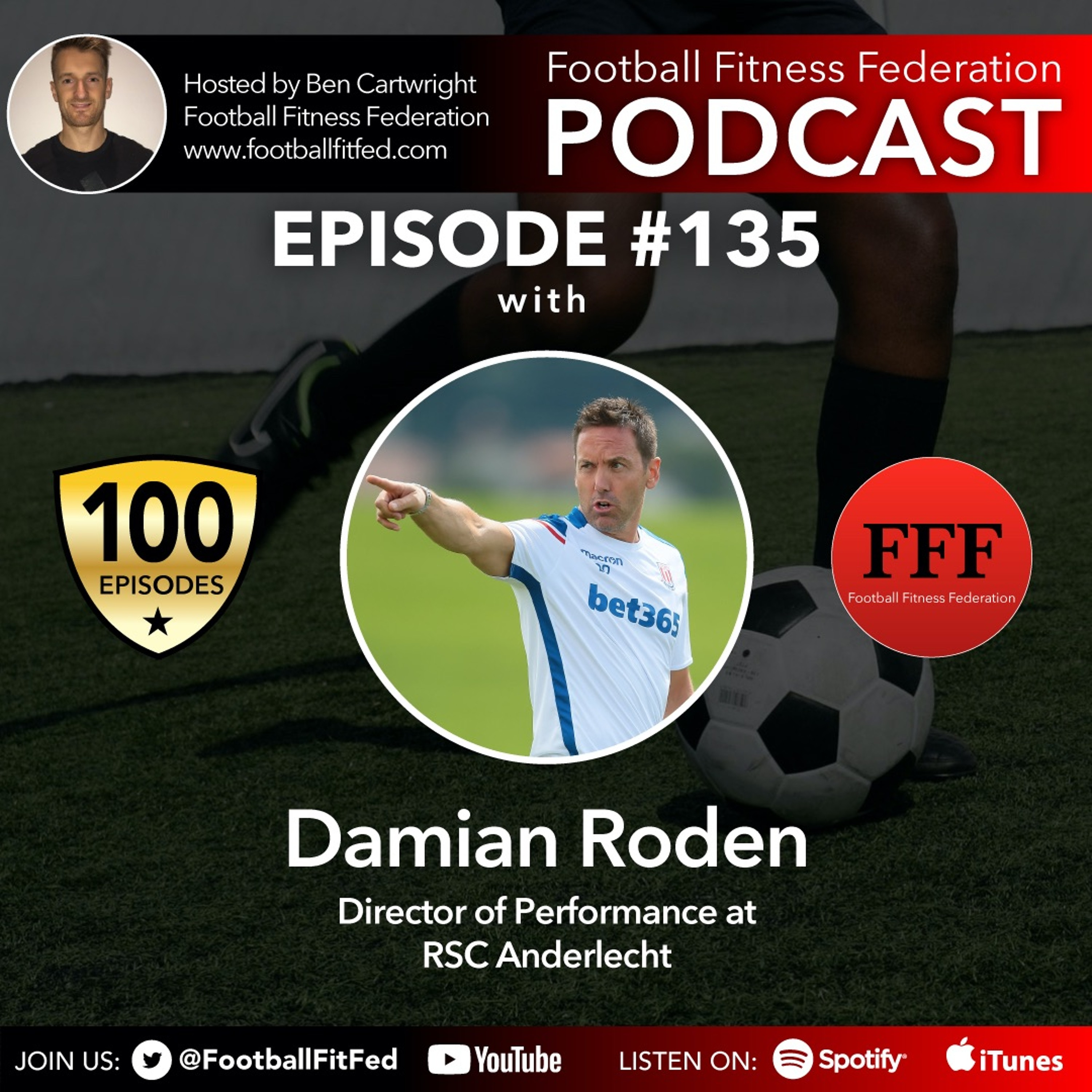 """#135 """"Availability Is Winability"""" With Damian Roden"""
