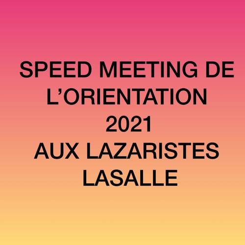 Speed meeting de l'orientation 2021