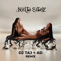DJ Taj - Wild Side (Jersey Club Mix) ft. @ad2txmes