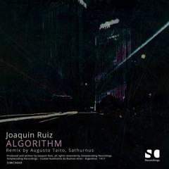 Premiere: Joaquin Ruiz - Inflation (Augusto Taito Organic Remix) (SIMC0069) Simplecoding Recordings