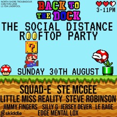 BACK TO THE DOCK ROOF TOP PARTY