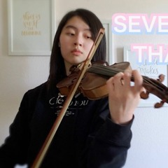 SEVENTEEN 'THANKS' - Violin w/ Piano Cover