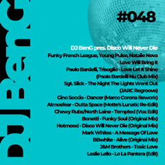 048 - DJ BenG pres. Disco Will Never Die (06.04.2021)