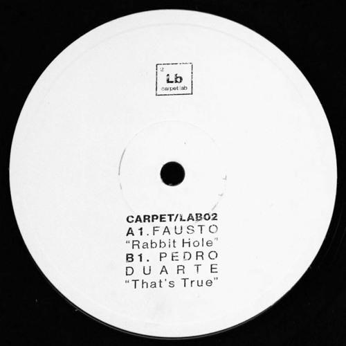 """[CARPET/LAB02] Fausto / Pedro Duarte - """"Rabbit Hole / That's True"""" EP [OUT NOW!]"""