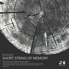 "SIMC0054-Kumasi ""SHORT STRING OF MEMORY"" Inc Zalem & Dangelo SIMPLECODING RECORDINGS (Snippets)"
