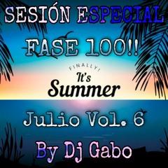 Sesión Especial Julio Vol. 6 By Dj Gabo