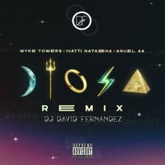 Myke Towers X Natti Natasha X Anuel AA - Diosa (David Fernandez Remix)