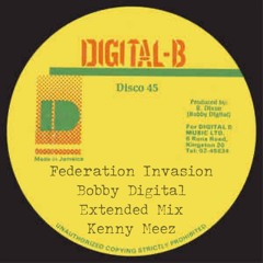 Federation Invasion Podcast #464 Bobby Digital Special (Extended) Mixed by Kenny Meez