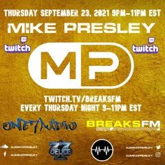 Live on BreaksFM - September 23, 2021
